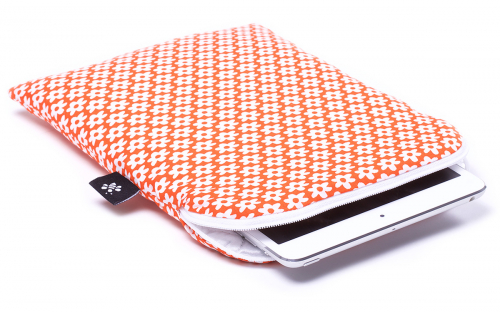 Oranje iPad mini hoes
