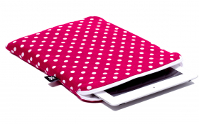 Rood roze iPad hoesje - Pinkish Red