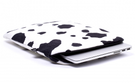 Koe MacBook hoes - Lazy Cow